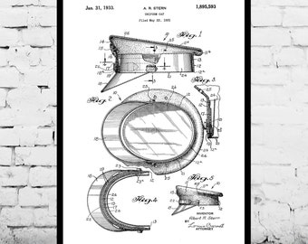 Police Hat Poster Police Hat Patent Police Hat Print Police Hat Art Police Hat Decor Police Hat Wall Art Police Hat Blueprint p1279