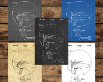 INSTANT DOWNLOAD - Airplane Patent, Airplane Decor, Airplane Art, Airplane Print, Aviation Decor, Airplane Patent, Aviation Art, Pilot Gift