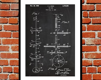 Cat Tree Print Cat Tree Poster Cat Tree Patent Cat Tree Decor Cat Tree Wall Art Cat Tree Blueprint Cat Tree Art p073