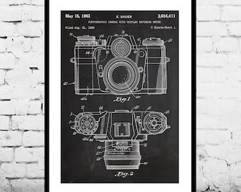 Camera Poster Vintage Camera Patent Vintage Camera Print Vintage Camera Vintage Camera Decor Vintage Camera Blueprint Camera p065
