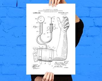 Blood Pressure Cuff Patent Blood Pressure Cuff Poster Blood Pressure Cuff Print Blood Pressure Cuff Art Blood Pressure Cuff Decor p471