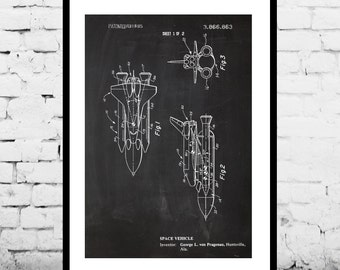 Space, NASA Space Shuttle Poster, NASA Space Shuttle Patent, NASA Space Shuttle Print, Nasa Space Shuttle Art, Nasa Space Shuttle Decorp1150