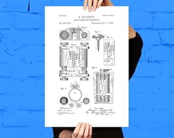 First Computer Print First Computer Poster First Computer Patent Computer Decor First Computer Art First Computer Wall Art Computer p569