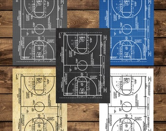 INSTANT DOWNLOAD - Basketball Patent, Basketball Coach Gift , Basketball Gift, Basketball Decor, Basketball art, Basketball Court