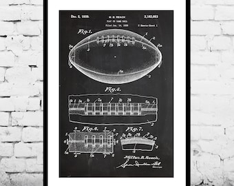 Football Patent, Football Print, Football Poster, Football Mom, Football Art, Football Wall Art, Football Patent, Football Fan Art p799