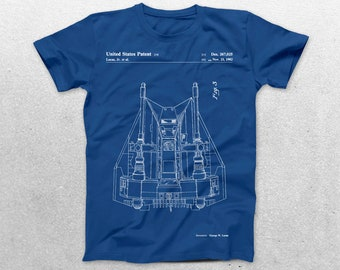 Star Wars Rebellion Ship Patent T-Shirt, Rebellion Ship Blueprint, Star Wars Patent Print T-Shirt, Star Wars T-Shirt, Star Wars Gifts, p944