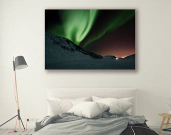 Nightscapes Skyscapes Aurora Borealis Nature Landscape Nature Photography Home Decor Wall Decor PH0195