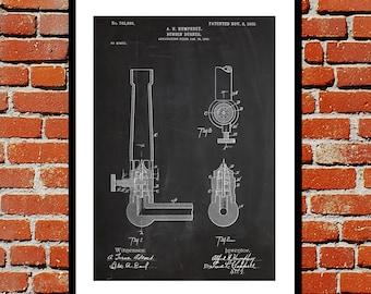 Bunsen Burner Patent Bunsen Burner Poster Bunsen Burner Blueprint  Bunsen Burner Print Bunsen Burner Art Bunsen Burner Decor p478