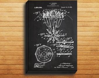 CANVAS  Parachute Patent Parachute Poster Parachute Blueprint Parachute Print Parachute Art Parachute Decor p227