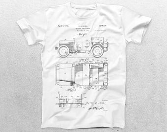 Military Jeep Patent T-Shirt, Military Jeep Blueprint, Patent Print T-Shirt, Military Jeep Shirt, Military Shirt p1174