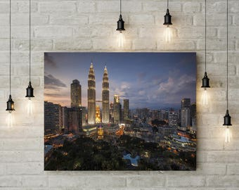 Cityscapes Nightscapes Landscape Photography Home Decor Wall Decor Sunsets Scenery PH0188