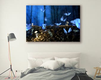 Butterfly Print Large Wall Art Print Fine Art Photography Print Nature Photography Butterfly Wall Decor Mountain Art Forest PH06
