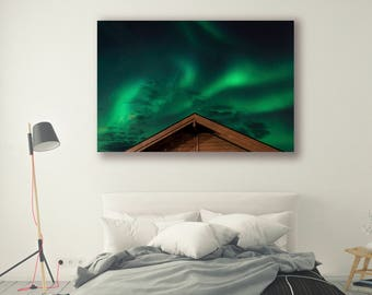 Sky Photography Aurora Borealis Night Sky Nature Landscape Nature Photography Home Decor Stars Wall Decor Constellations PH0137