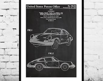 Porsche  Patent, Porsche Poster, Porsche Print, Porsche Art, Porsche Decor, Porsche Blueprint, Porsche Old Wall Art p1154