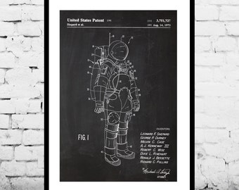 Space, Space Suit Poster, Space Suit Patent, Space Suit Print, Space Suit Decor, Space Suit Art, Space Suit Blueprint, Space Suit Wall p1162