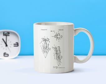 Space Shuttle patent mug  coffee mug  coffee lover  patent art  patent mug  Space Decor Space Shuttle NASA AstronomyAstronomyM53