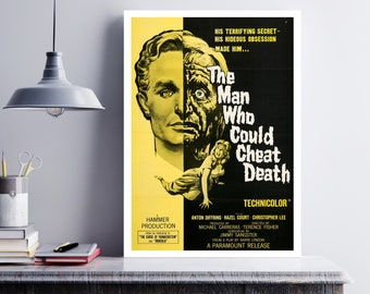 MOVIE poster vintage The Man Who Could Cheat Death Classic Horror poster Poster Art Vintage Print Art Home Decor movie poster art sp651