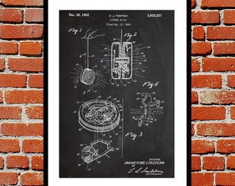 Light Up Yo-Yo Patent, Light Up Yo-Yo Poster, Yo-Yo Blueprint, Yo-Yo Print, Fire Hydrant Art, Yo-Yo Decor p192