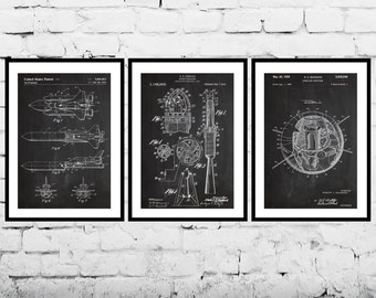 Space Poster, Space Exploration Patent, Space Prints, Space Shuttle, Space Art, Outer Space Wall Decor, Space Rocket, Space, Outer sp488