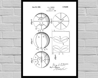Basketball Print, Basketball Poster, Basketball Patent, Basketball Decor, Basketball Art, Vintage Basketball Goal p434