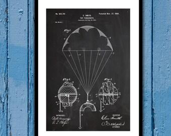 Toy Parachute Patent, Toy Parachute Poster, Toy Parachute Blueprint, Toy Parachute Print, Toy Parachute Art, Toy Parachute Decor p1217