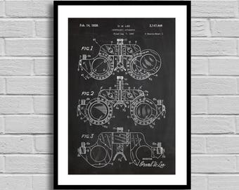 Opthalmic Apparatus Patent Opthalmic Apparatus Patent Poster Ophtalmic Apparatus Blueprint Opthalmic Apparatus Print Doctor GiftMedical p676