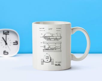 Armored Tank patent mug  coffee mug  coffee lover  patent art  patent mug  Vintage Military Decor Army Gift Home DecorM27