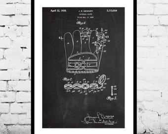 Baseball Glove Patent, Baseball Glove Poster, Baseball Glove decor,Baseball Glove Print, Baseball Art, Baseball Glove p412