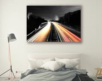 Lifestyle Photography Industrial Photography Modern Home Decor Wall Decor Landscape Photography Night-cap PH0156