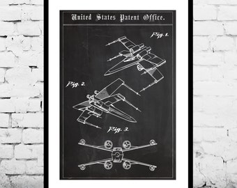 Star wars X Wing Star Wars Poster X Wing Star Wars Patent X Wing Star Wars Print X Wing Star Wars Art X Wing Star Wars p1419