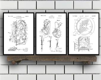 skydiving Patents Set of 3 Prints, skydiving Prints, skydiving Posters, skydiving Blueprints, skydiving Art, skydiving Sp361