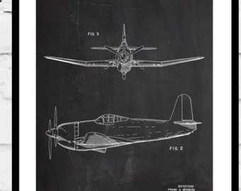 Airplane Patent Airplane Decor Airplane Art Airplane Print Aviation Decor Airplane Patent Aviation Art Aviation Art Pilot Gift p361