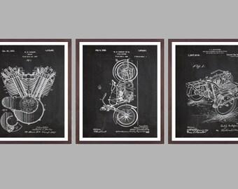 Harley Davidson Poster - motorcycle prints - Harley Poster - Harley Davidson Motorcycle - Harley Engine - Harley - Motorcycle p13-15