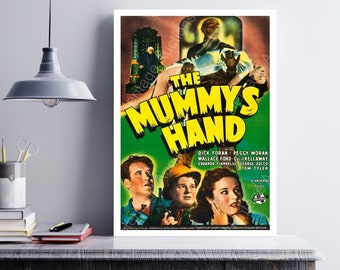 MOVIE poster vintage The Mummy's Hand Classic Horror poster Poster Art Vintage Print Art Home Decor movie poster art Movie Collectible sp611