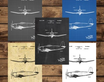 INSTANT DOWNLOAD - Airplane Patent, Airplane Decor, Airplane Art, Airplane Print, Aviation Decor, Airplane Patent, Aviation Art