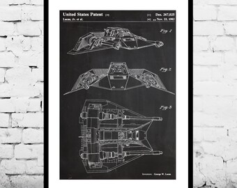 Star Wars Rebellion Ship Poster Star Wars Rebellion Ship Patent Star Wars Rebellion Ship Print Star Wars Rebellion Ship Art Star Wars p951