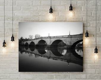 Black and White Photography Lifestyle Photography Architecture Landscape Photography Scenery Home Decor Bridge  Wall Decor PH0148