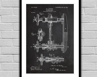 Water Gage Patent Water Gage Poster Water Gage Blueprint Water Gage Print Water Gage Art Water Gage Decor p334