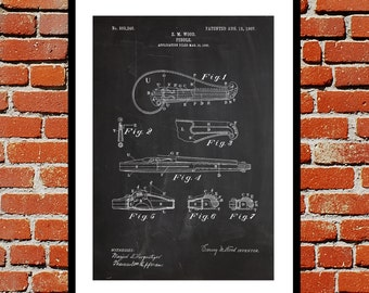 Fiddle Patent, Fiddle Poster, Fiddle Blueprint,  Fiddle Print, Fiddle Art, Fiddle Decor SP348