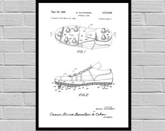 Football Shoe Patent, Football Print, Football Poster, Football Mom, Football Art, Football Wall Art, Football Patent, Football Art p801