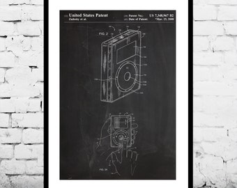 iPod Print, iPod Poster, iPod Patent, iPod Wall Decor, iPod Art, iPod Blueprint, iPod Wall Art, iPod Decor, iPod Design p179