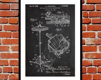 Hi-Hat Cymbal Patent, Hi-Hat Cymbal Poster, Hi-Hat Cymbal Print, Hi-Hat Cymbal Art, Hi-Hat Cymbal Decor, Hi-Hat Cymbal Blueprint p160