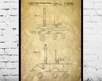 Mars Rover Patent Mars Rover Poster Mars Rover Print Mars Rover Art Mars Rover Decor Mars Rover Blueprint Mars Rover Design p204