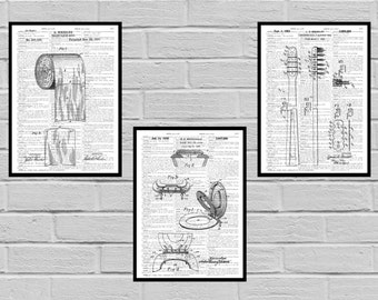 Bathroom Poster, Bathroom Art, Bathroom Decor, Bathroom Art, Toilet paper, Toilet Seat, Tooth Brush, Bathroom Wall Art, Bathroom SP573