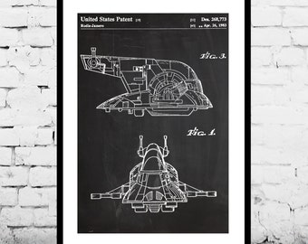 Star wars Slave One Star Wars Poster Slave One Boba Fett's ship Slave One Star Wars Print Slave One Star Wars Art Slave One Star Wars p937