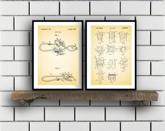Rock Climbing set of 2  Climbing prints  Climbing Poster  Rock Climbing mixer pack  Vintage climbing Patents  Rock Climbing SP81