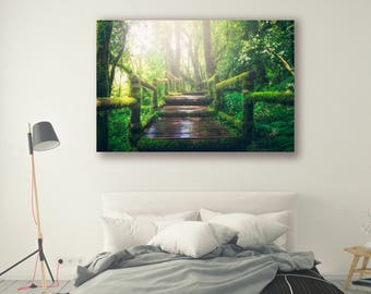 Nature Photography Forest Path Tree Art Nature Landscape Nature Photography Home Decor Tree Photo  Wall Decor Nature Decor PH053