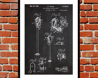 Parking Meter Patent, Parking Meter Poster, Parking Meter Blueprint,  Parking Meter Print, Parking Meter Art, Parking Meter Decor p1153