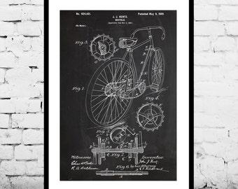 Eagle Quad Racing Bicycle Print, Eagle Quad Racing Bicycle Patent, Racing Bike Art, Cycling Art, Bicycle Patent, Bicycle Art, Biker Art p712