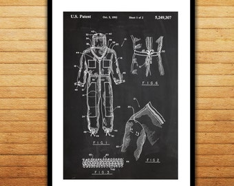 Bee Keeper Suit Patent Bee Keeper Suit Poster Bee Keeper Suit Blueprint Bee Keeper Suit Print Bee Keeper Suit Decor p464